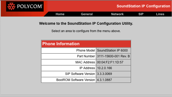 Polycom Soundstation IP6000 - URL Networks