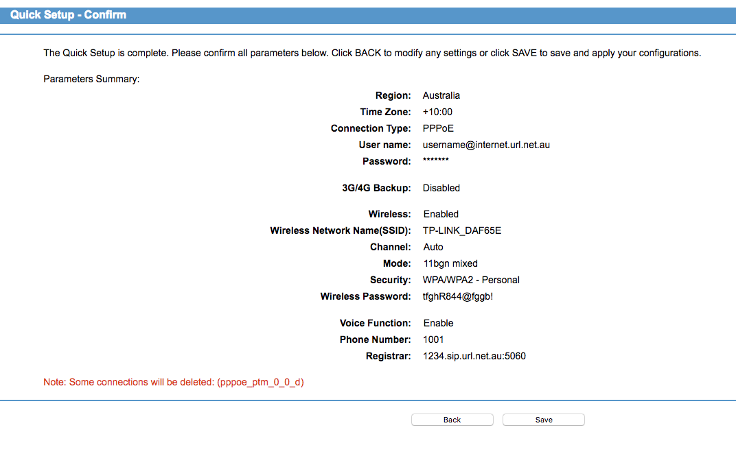 Configure the TP-Link VG5612 in PPPoE Mode for NBN - URL Networks